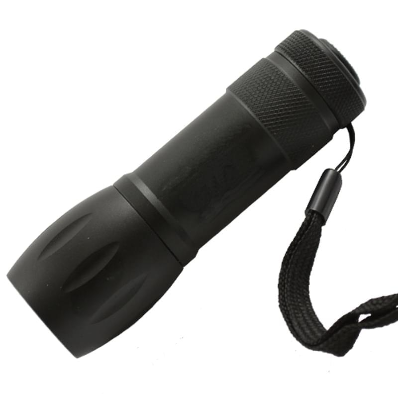 Aluminum Wide Body 9 LED Flashlight