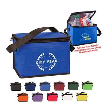 6 Pack Non-Woven Cooler Bag