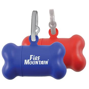 Plastic Dog Waste w/ Carb Clip