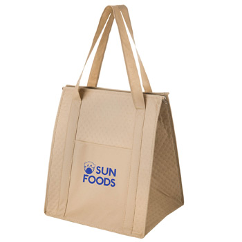 Insulated Non-Woven Grocery Tote Bag