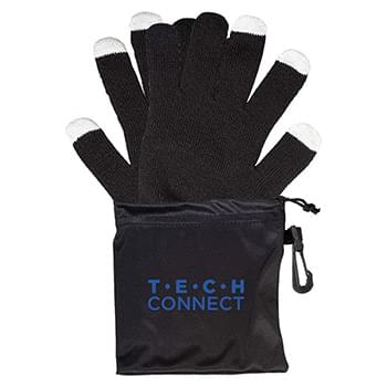 Touchscrteen-Friendly Gloves In Pouch